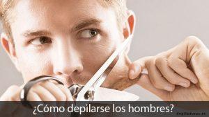 depilación para hombres