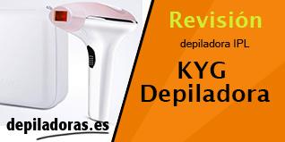 KYG Depiladora de Luz Pulsada Sistema IPL – Opiniones